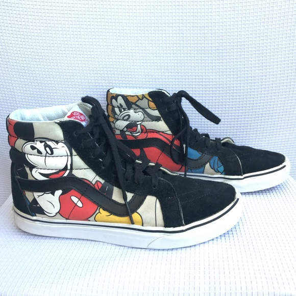 c1c3f6ae5f Disney Vans Unisex Sk8 Hi Reissue Mickey   Friends.  M 5b42f5a4a31c33d535defb35. Other Shoes ...